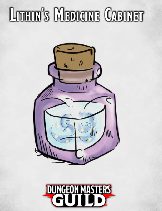 Cover page for Lithin's Medicine Cabinet